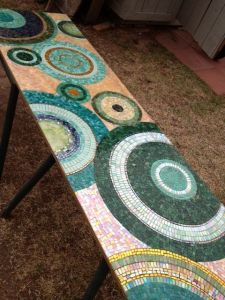 mosaic circles, brandi fletcher