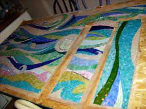 mosaic patterns, design mosaic, beachy
