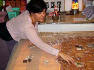 floor stone mosaic, mosaic puzzle, brandi fletcher