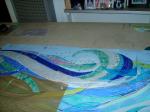 glass mosaic pattern design, brandi fletcher designs