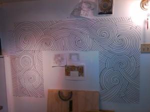 Brandi Fletcher mosaic design, mosaic template, mosaic pattern